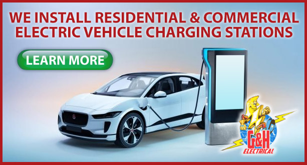electric vehicle charging station installation